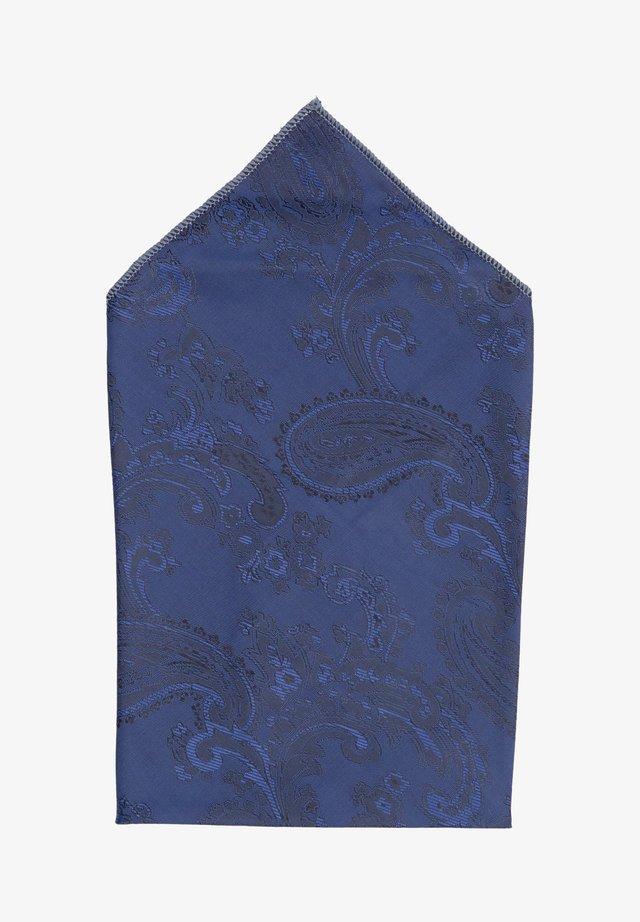 SHELBY - Pocket square - blau
