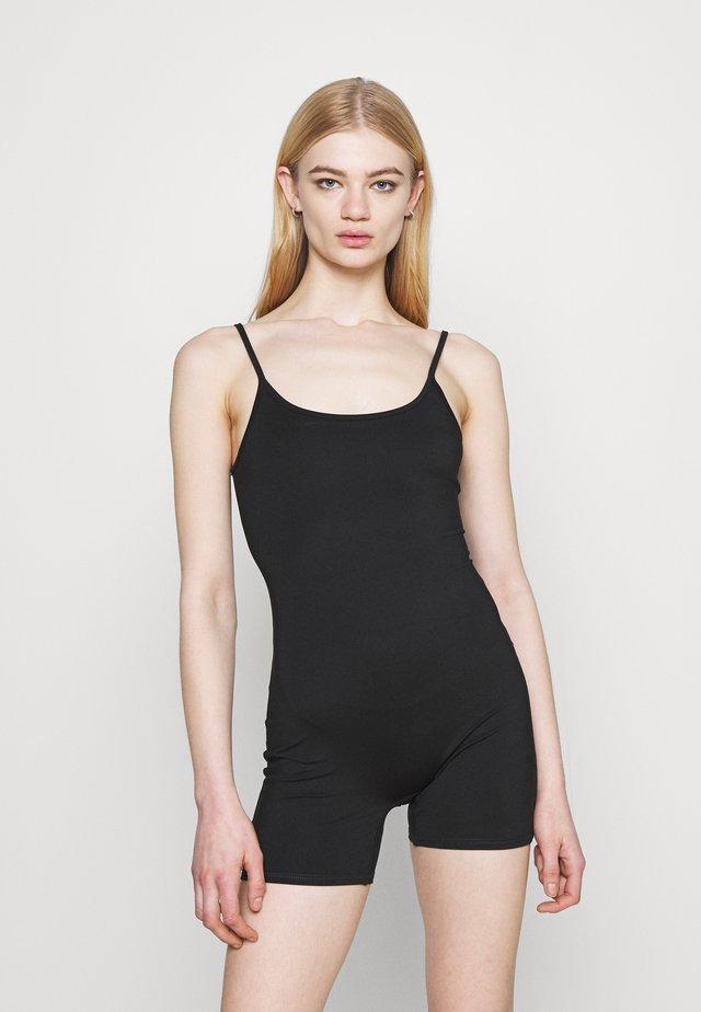 EVERYTHING BIKE SHORT BODYSUIT - Jumpsuit - true black