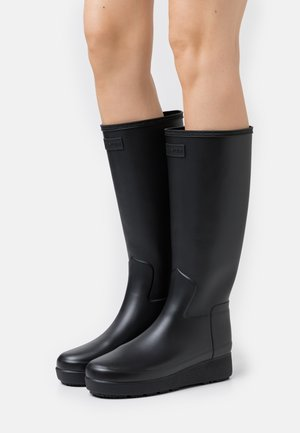 WOMENS REFINED CREEPER KNEE TALL - Wellies - black