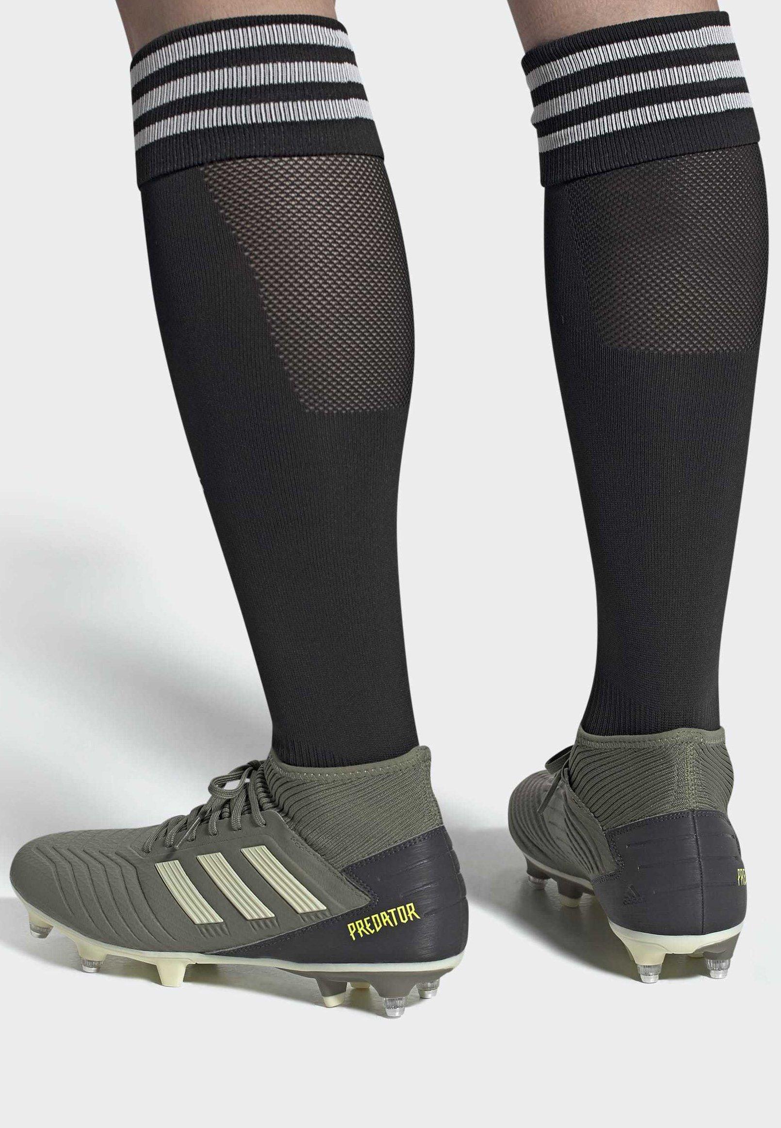 Szybka Dostawa Obuwie damskie adidas Performance PREDATOR 19.3 Korki wkręty grey