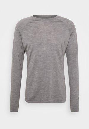 ACTIVIST CREW - T-shirt à manches longues - soft grey