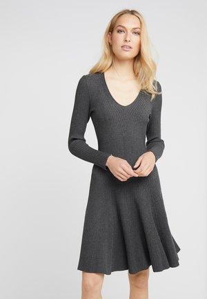 DRESS SPECIAL - Strikket kjole - dark grey