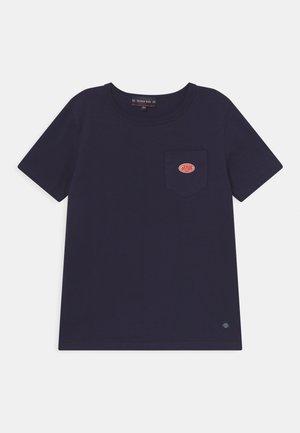 POCKET UNISEX - Print T-shirt - navy