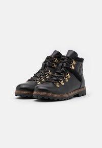 Friboo - Šněrovací kotníkové boty - black - 1