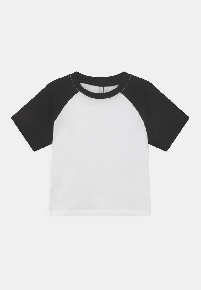 CROPPED TEE  - T-shirt med print - bright white