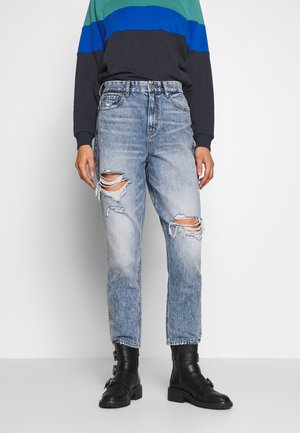 CURVY MOM - Relaxed fit jeans - blue street