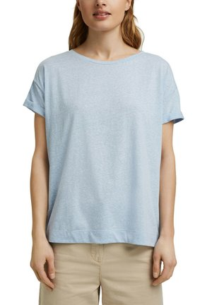 PER COO CLOUDY - Basic T-shirt - light blue