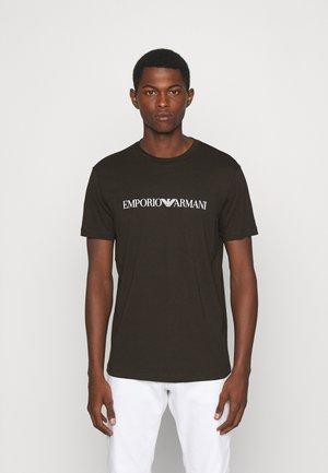 Print T-shirt - verde chiaro
