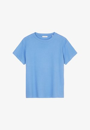T-shirt basic - washed cornflower