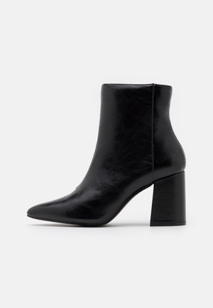 BAYLEY POINTED FLARE HEEL BOOT - Stiefelette - black
