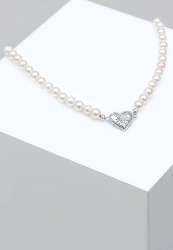 Necklace - silver-coloured