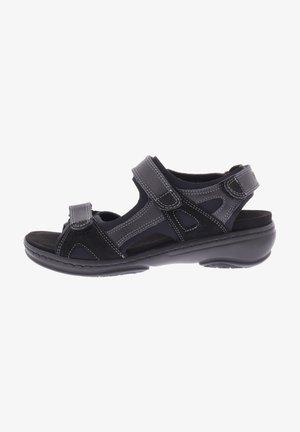 GINI - Walking sandals - schwarz