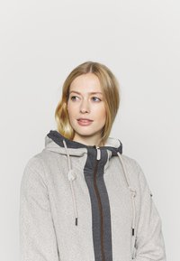 Luhta - HAUKILAHTI - Fleece jacket - natural white - 1