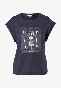 s.Oliver - Print T-shirt - navy - 6