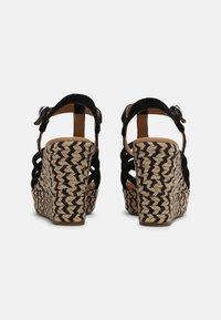 UGG - CRESSIDA - Wedge sandals - black - 3