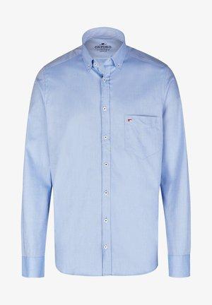 OXFORD HERREN LANGARM - Shirt - hellblau