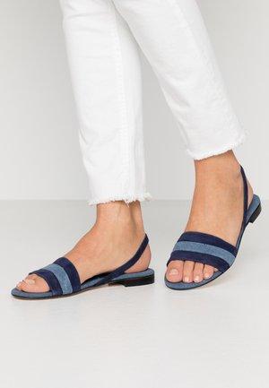 Sandały - abisso/celeste
