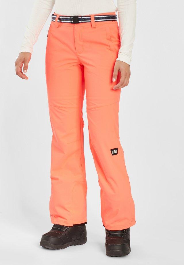 STAR PANTS - Skibroek - orange