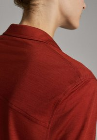 Massimo Dutti - Button-down blouse - red - 4