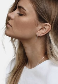 No More - FRENCH COUPLE EARRINGS - Earrings - silver - 0