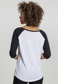 Merchcode - Long sleeved top - white/black - 1