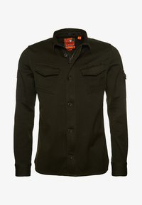 Superdry - SUPERDRY PATCH PATROL LONG SLEEVED SHIRT - Vapaa-ajan kauluspaita - green - 3
