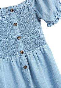 Next - DENIM SHIRRED - Tuta jumpsuit - blue - 2