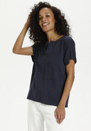 KAABELA  - T-shirt basic - midnight marine