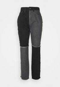 EQUILIBRIUM - Jeans straight leg - charcoal/grey