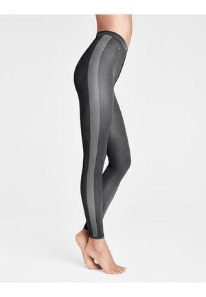 ROBIN  - Leggings - Stockings - black/ash