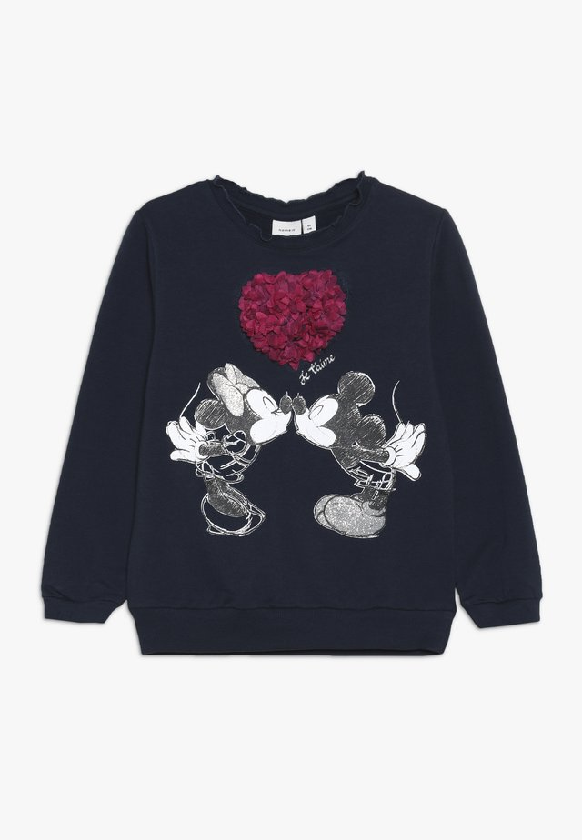 DISNEY MINNIE MOUSE & MICKEY MOUSE OLIVIA - Sweater - dark sapphire