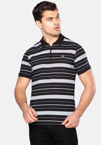 2 PACK ASTON - Polo shirt - black