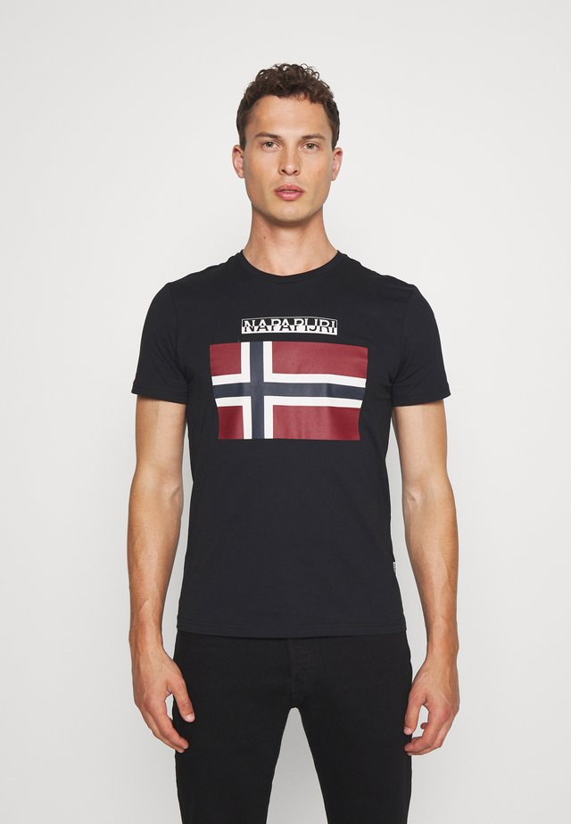 SELLYN - T-shirt imprimé - black