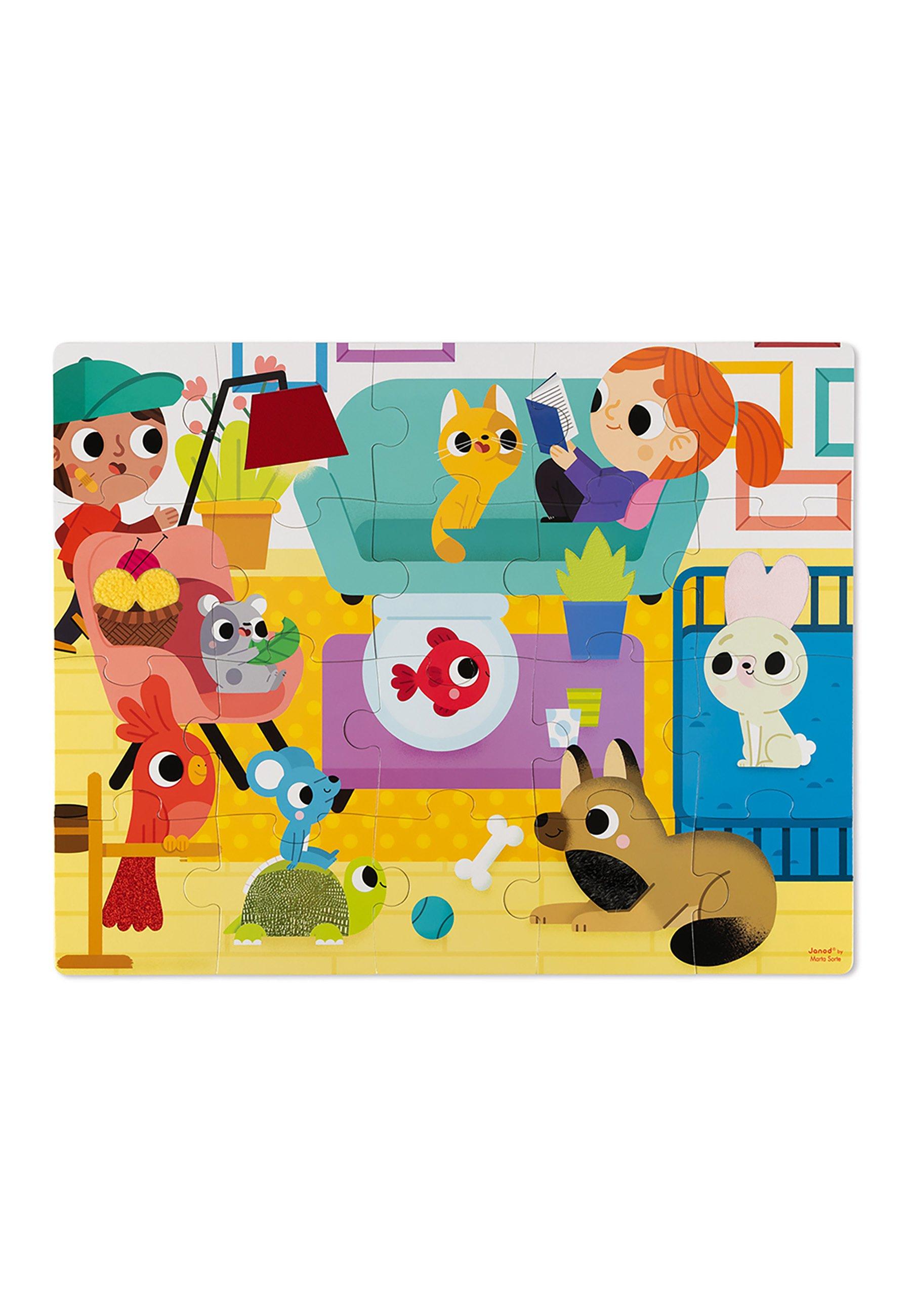 Kinder HAPTIK HAUSTIERE 20 TEILE - Puzzle