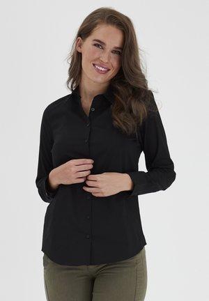 Overhemdblouse - (noos) black