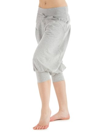 3/4 sports trousers - grey melange