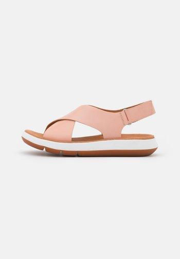 JEMSA CROSS - Sandalias - light pink