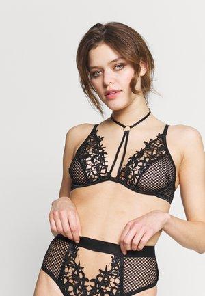 DARKEST NOIR BRA - Underwired bra - black