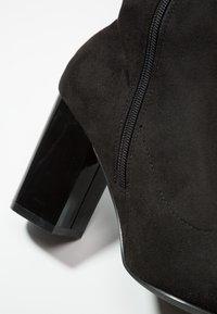 Even&Odd - Kozačky na vysokém podpatku - black - 2