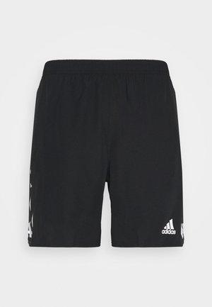 CELEB SHORT - Sports shorts - black/white