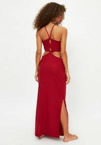 Trendyol - Maxi dress - red - 1