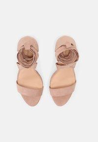 Even&Odd - Sandalias con plataforma - light pink - 5