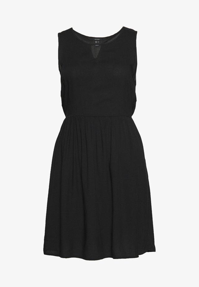 VMSIMPLY EASY SHORT DRESS - Day dress - black