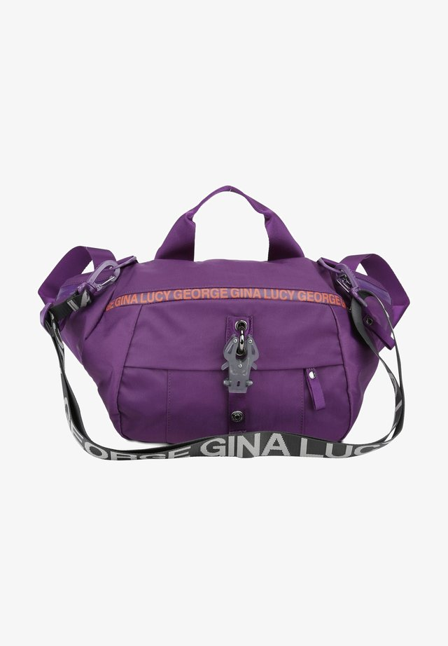 ROOTS - Bum bag - purple/orange