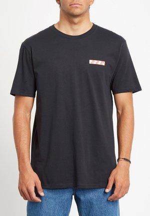 MORE OF US - HOMME - NOIR - T-shirt imprimé - black