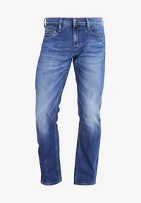 Mustang - OREGON  - Straight leg jeans - light scratched used - 5