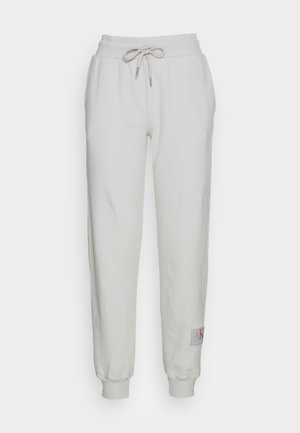 RELAXED FIT TRACK PANT - Tracksuit bottoms - stone grey
