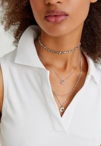 PULL&BEAR - 4 PACK - Necklace - silvercoloured - 0