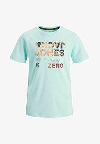 Jack & Jones Junior - Print T-shirt - bleached aqua - 5