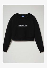 Napapijri - B-BOX CROPPED C - Sweatshirt - black - 0